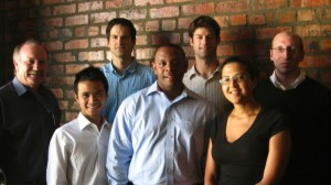 Pictured: Kit Vaughan (CapeRay), Viet Huynh (HBS), Roland Baasch (CapeRay), Rashaan Campbell (HBS), Adam Burgh (HBS), Tania Douglas (CapeRay) and David Kiren (HBS).