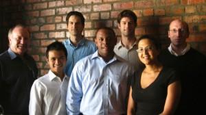 Pictured: Kit Vaughan (CapeRay), Viet Huynh (HBS), Roland Baasch (CapeRay), Rashaan Campbell (HBS), Adam Burgh (HBS), Tania Douglas (CapeRay) and David Kiren (HBS).