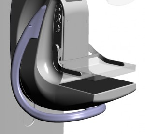 A 3D rendering showing the PantoScanner floating handle.