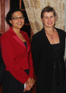 Tania Douglas (left) and Alison Lewis (right), new Fellows of the South African Academy of Engineering