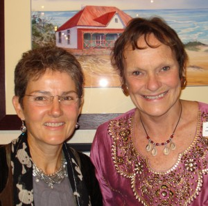 Carmel Rickard (L) and Jane Wiles (R), © Talk of the Town, Port Alfred