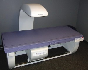An example of a DEXA system, the Discovery by Hologic