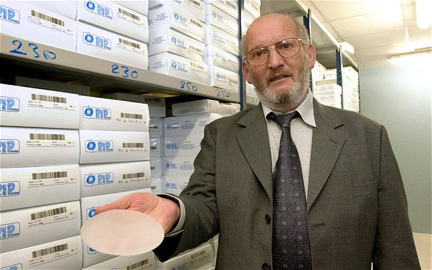 Jean-Claude Mas, President of Poly Implant Prothese (PIP).  Copyright AFP and Getty Images.