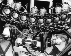 Octoson transducers, 1975. Copyright American Institute of Ultrasound in Medicine