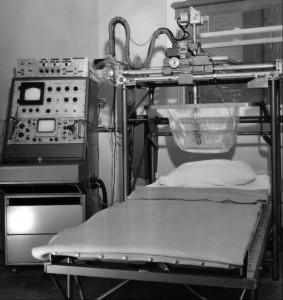 Ultrasonic Institute breast scanner, 1969. Copyright American Institute of Ultrasound in Medicine