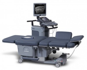 The SonicEmbrace automated breast ultrasound system from Ultrasonix Medical