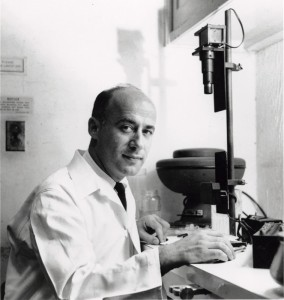 John Gofman in 1950. Copyright UC Berkeley.
