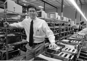 Michael Dell in 1987. Copyright American Statesman.