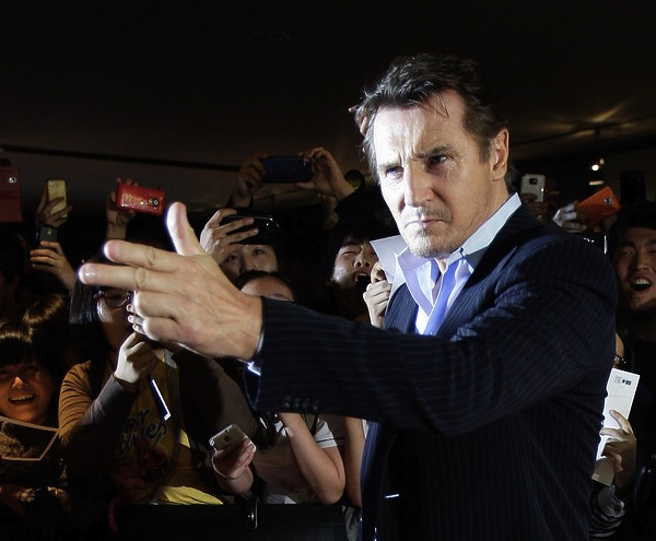 Liam Neeson wants to endorse you. © Getty Images.