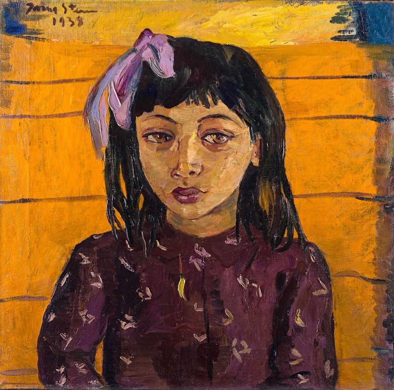"""Malay Girl"" by Irma Stern"